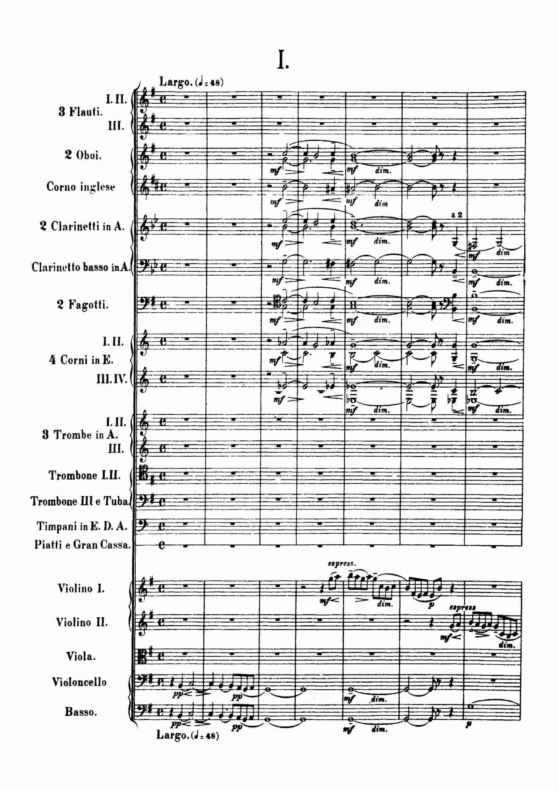 Rachmaninov, Sergei - Symphony No.2, Op.27 movt 1