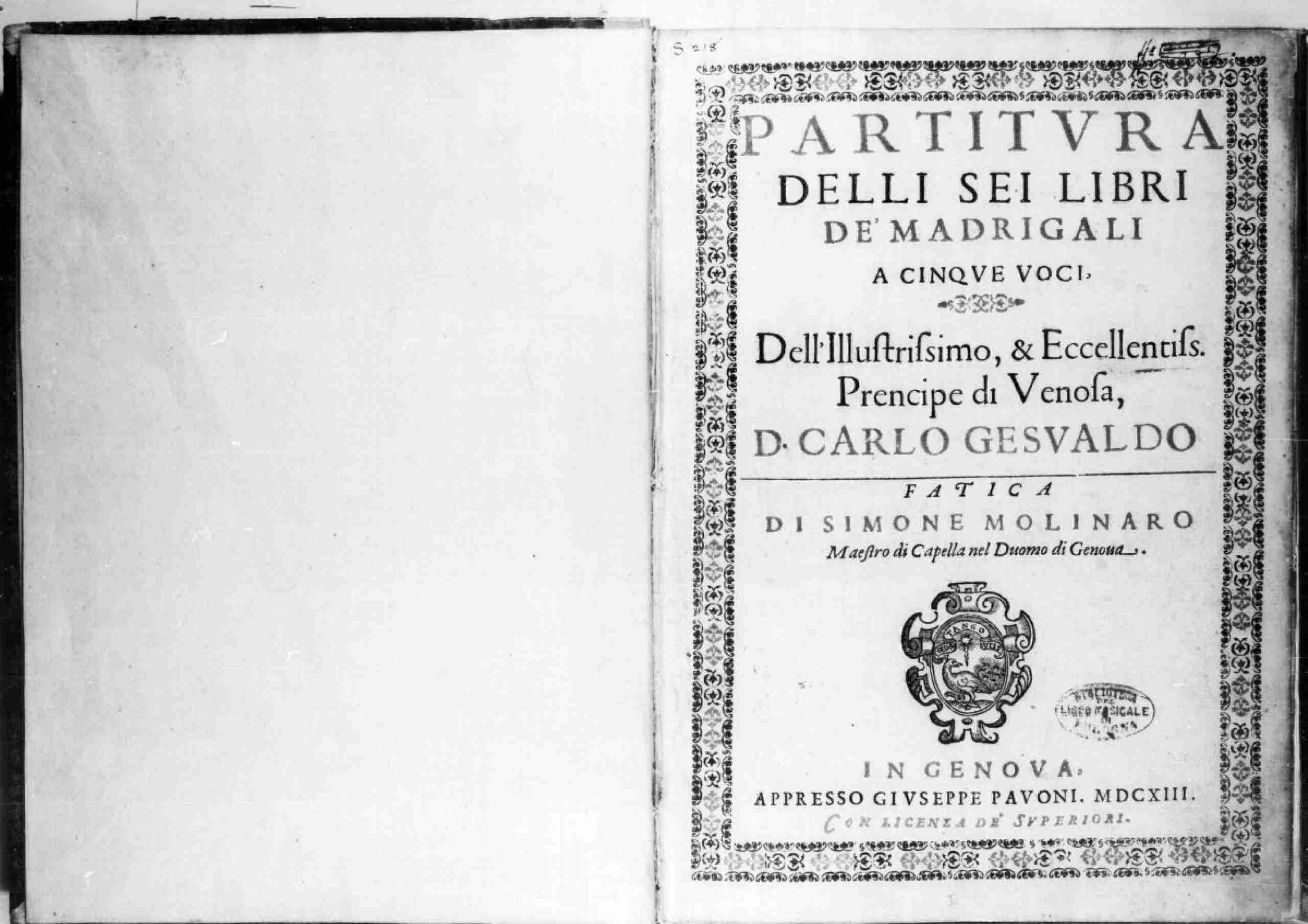 Gesualdo, Carlo - Madrigals, Books 1-6