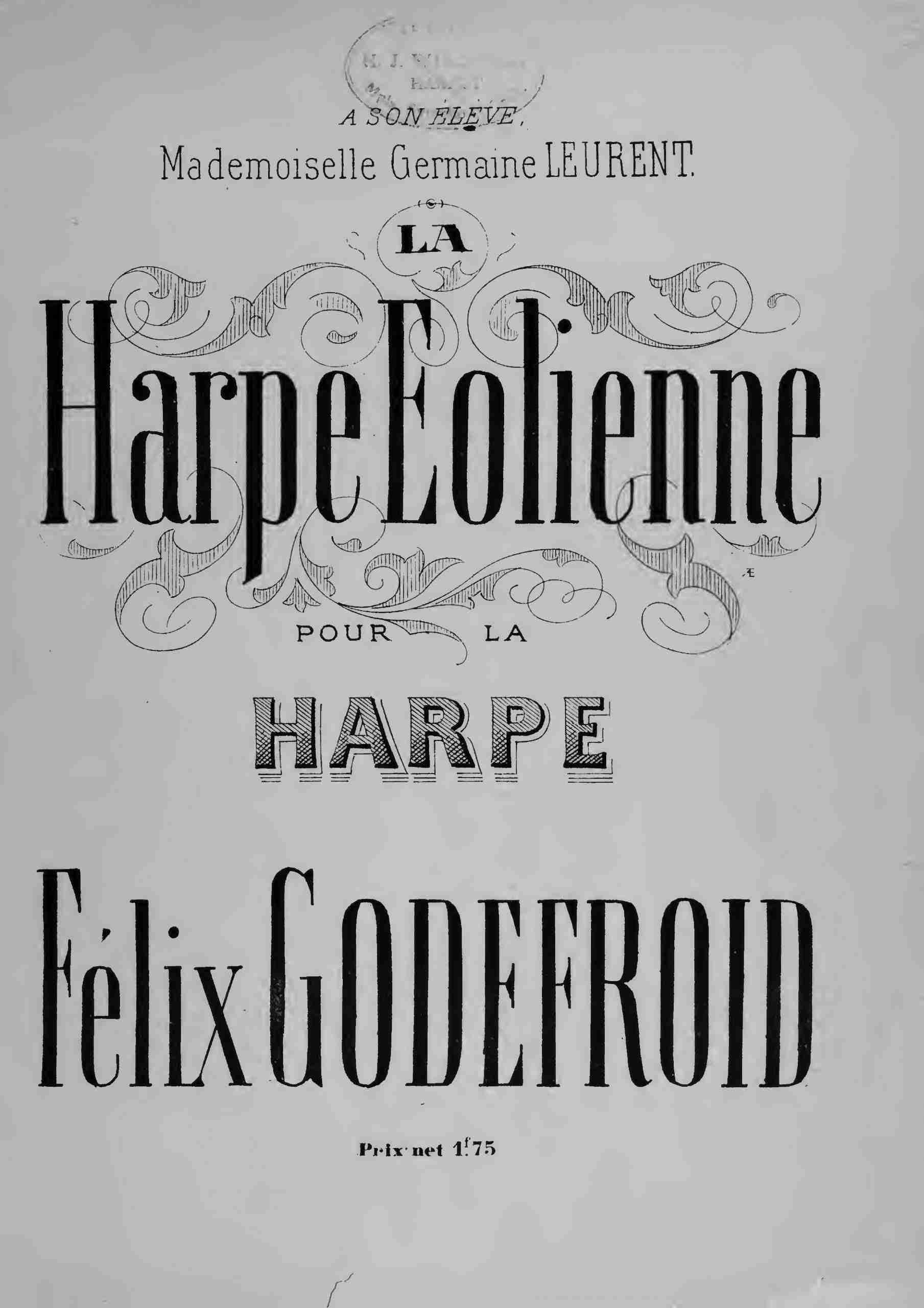 Godefroid, Félix - La harpe éolienne