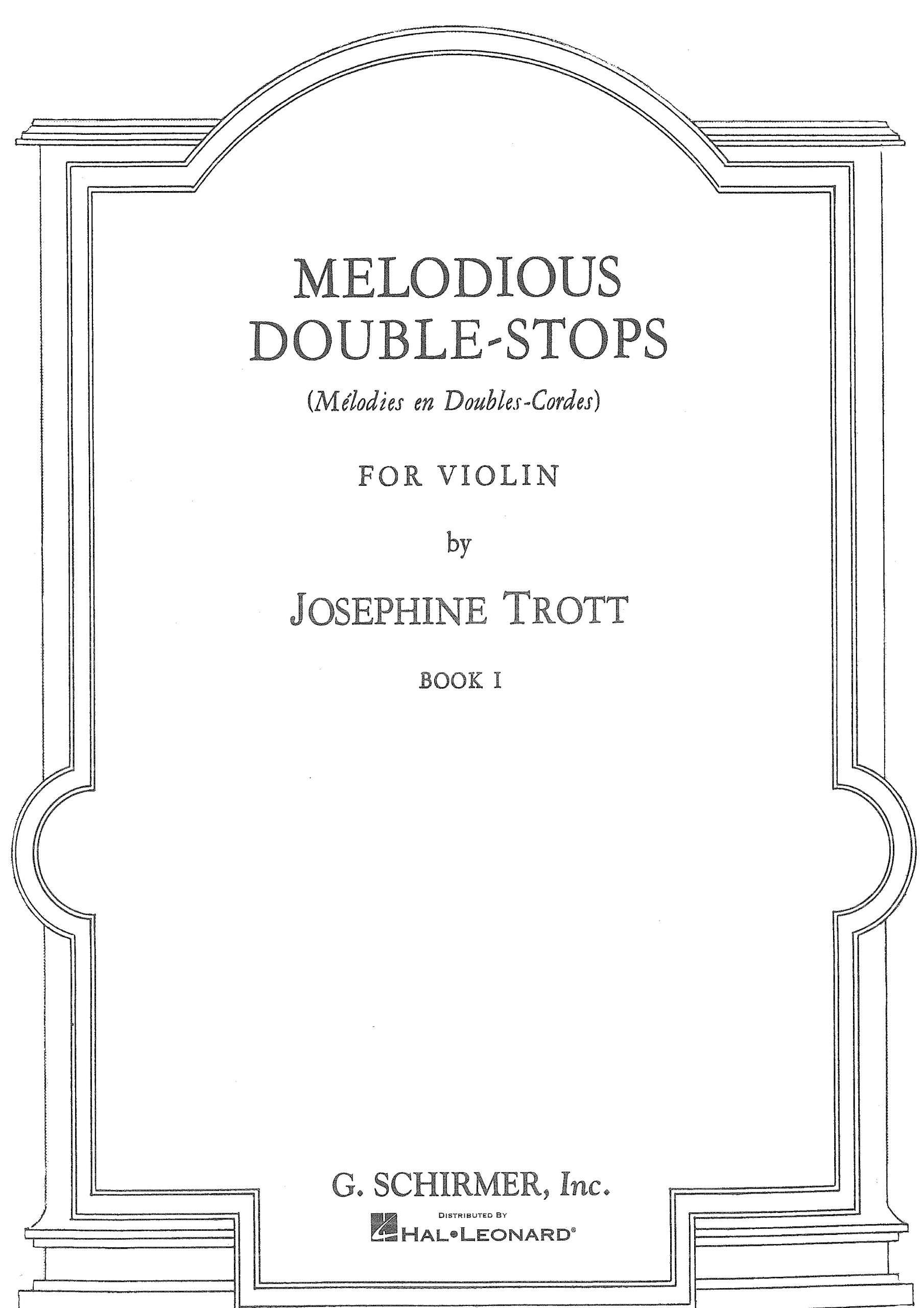 Trott, Josephine - Melodious Double-Stops