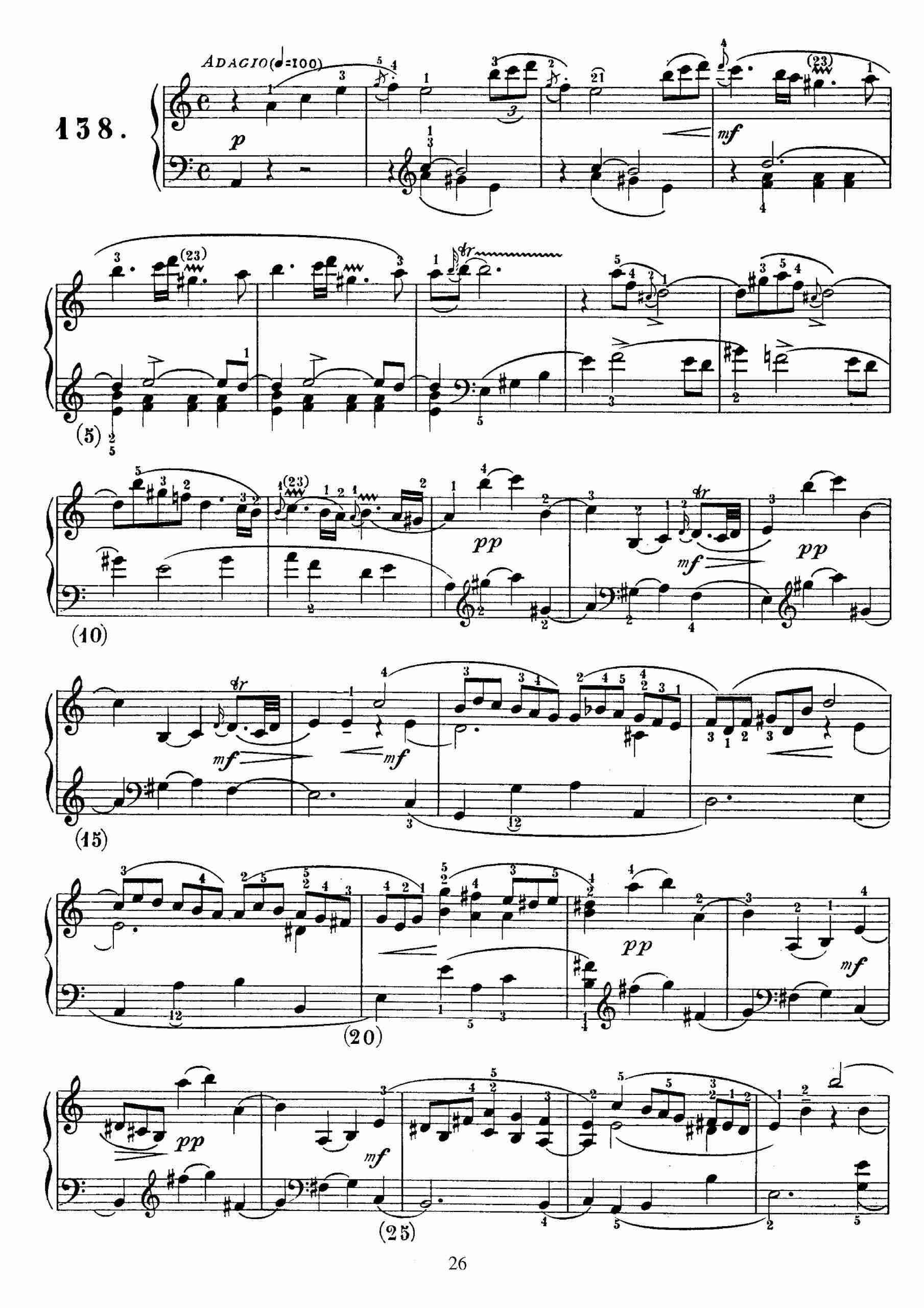 Scarlatti, Domenico - Keyboard Sonata in A minor, K.109
