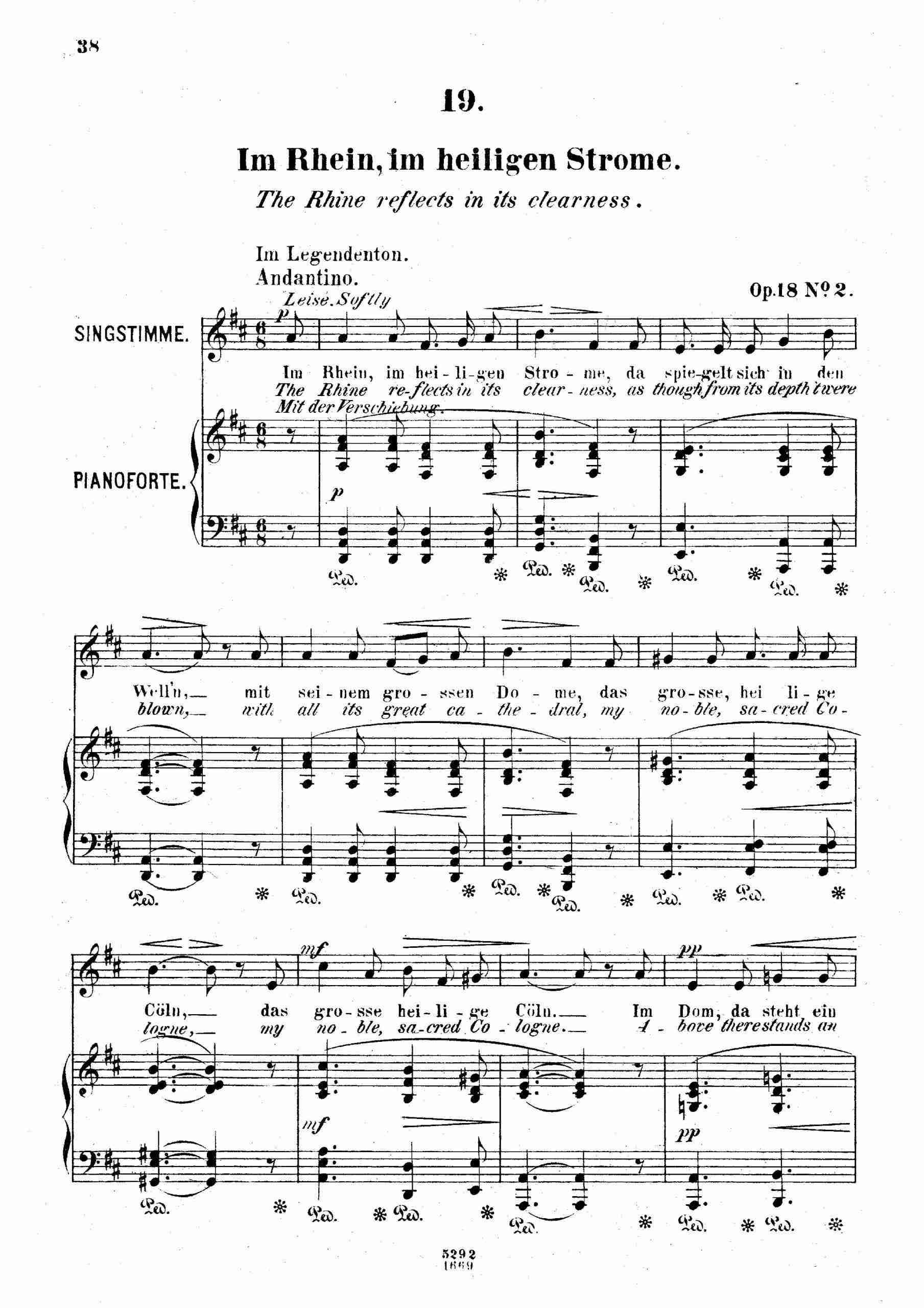 Franz, Robert - 6 Gesänge, Op.18 (no.2)