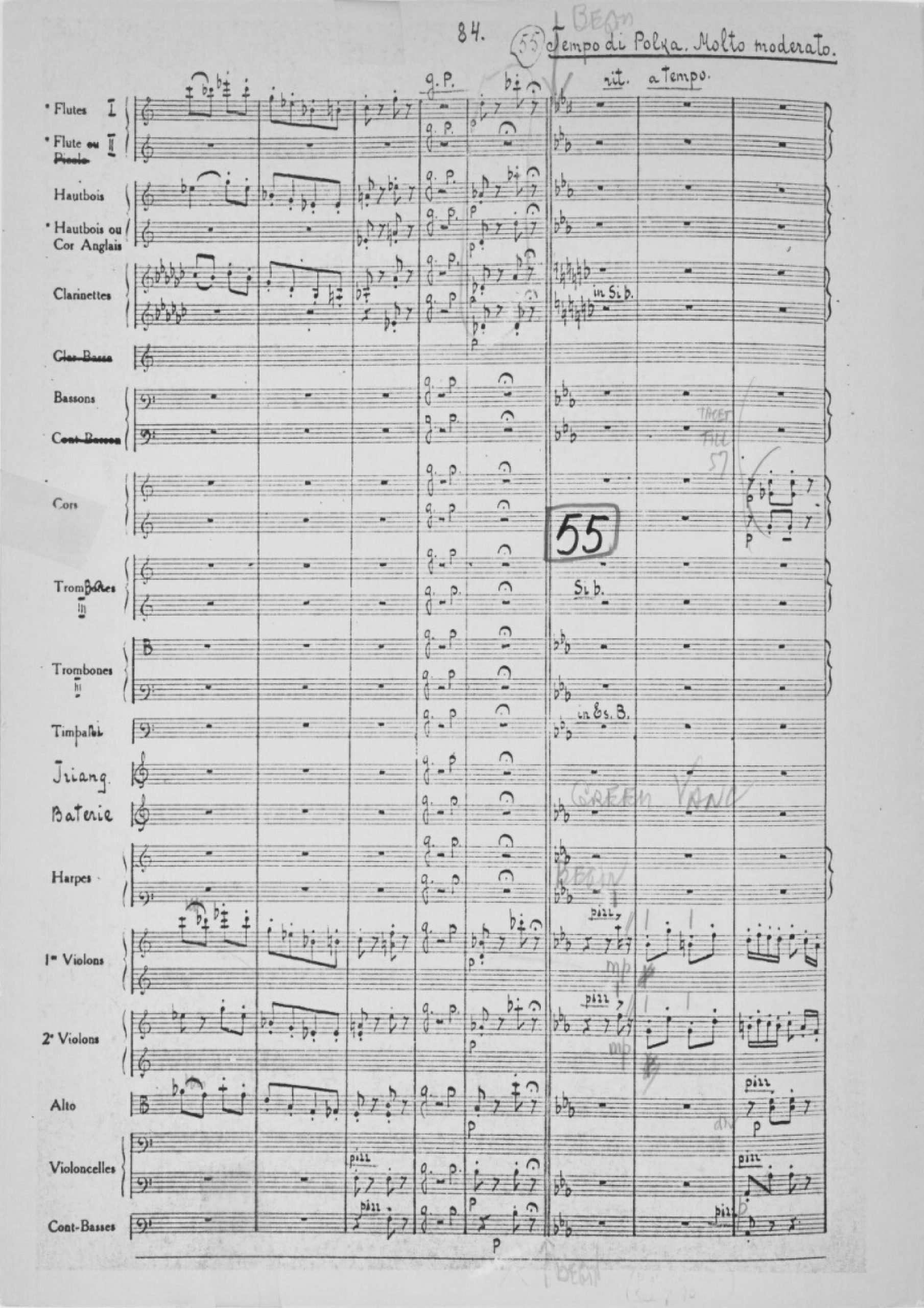 Drigo, Riccardo - Arlekinada (No.12 Score)