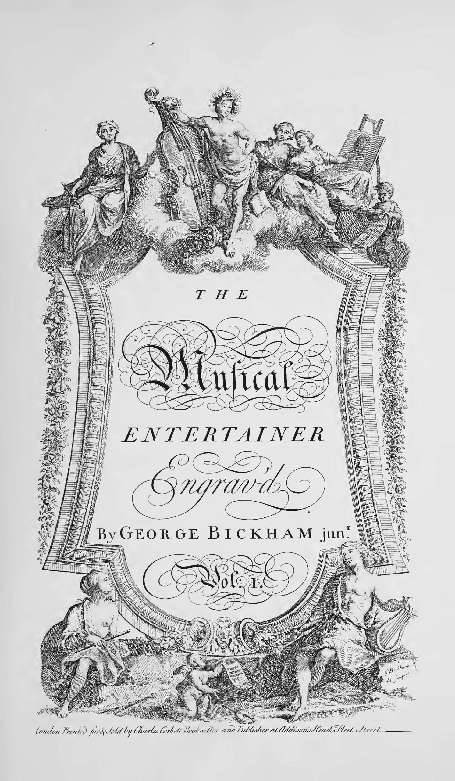 Bickham Jr., George - The Musical Entertainer (Vol.1)