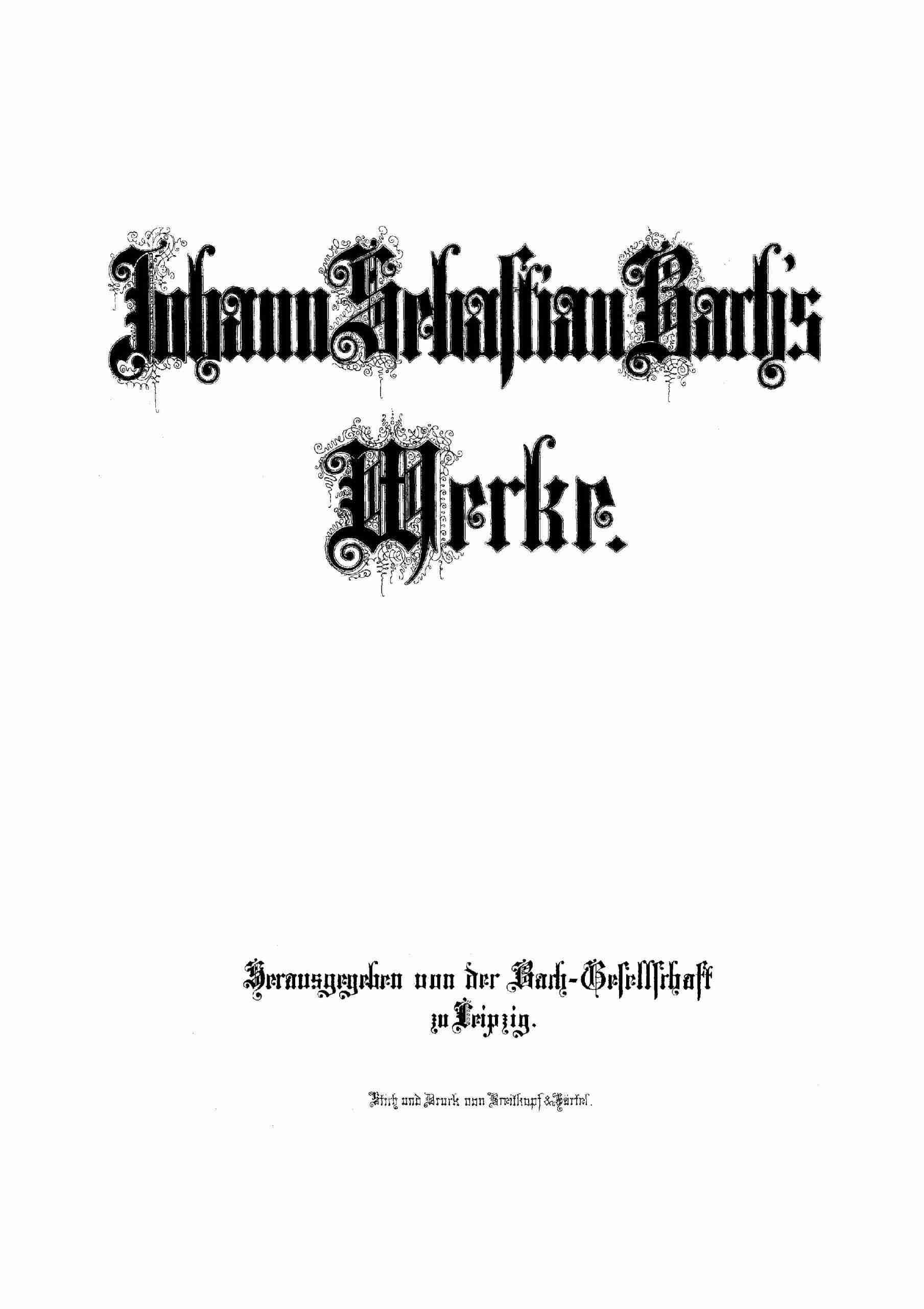 Bach, Johann Sebastian - Notebooks for Anna Magdalena Bach (1722 selections)